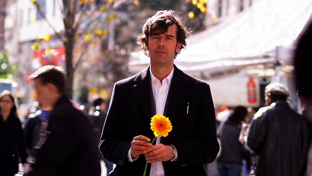 Stefan Sagmeister wants to give viewers a kick in the ass to explore their happiness.