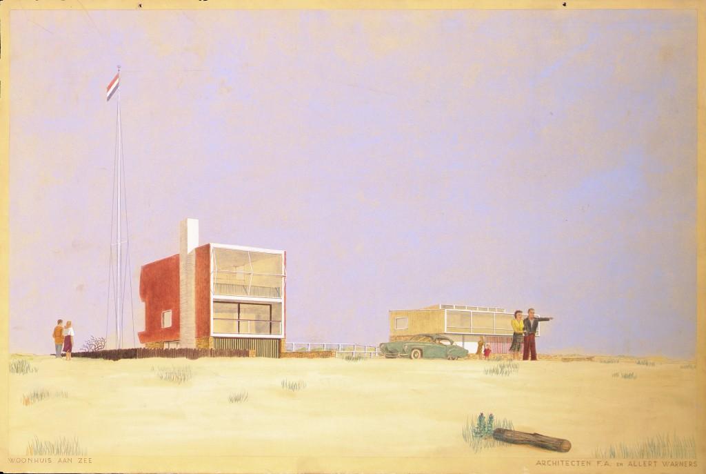 Woonhuis aan Zee, courtesy of Het Nieuwe Instituut